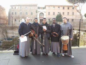 Frati a Roma itineranti