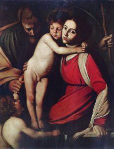 Santa famiglia Caravaggio