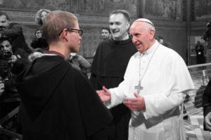 Frate Frank e il Papa