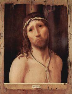 Cristo sofferente Antonello