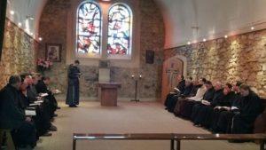 Frati Narbonne in preghiera