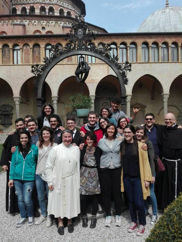 gruppo del Triduo Pasquale al Santo
