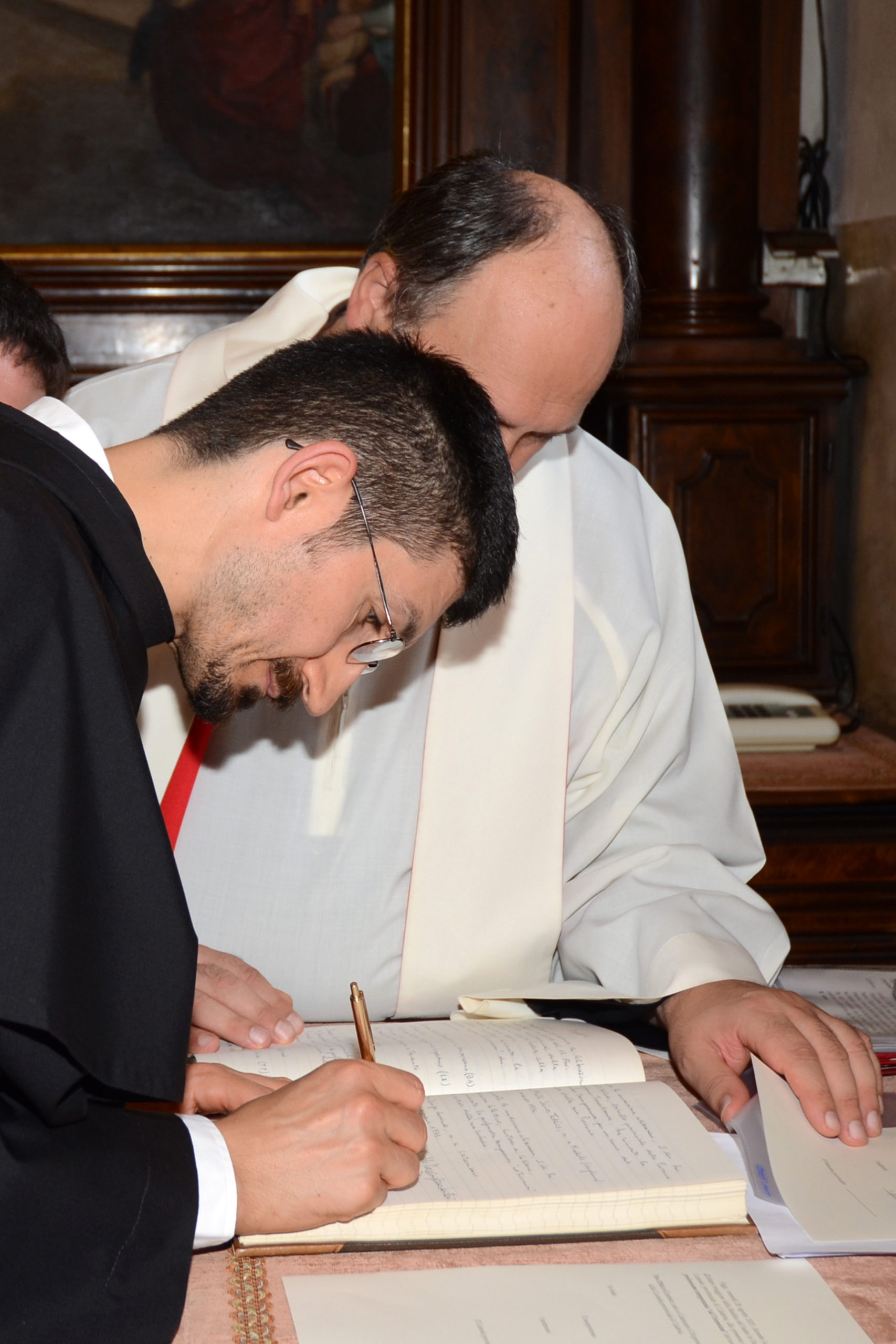 firma della professione temporanea
