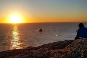 sunset a Finisterre
