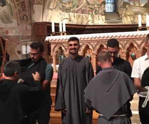 vestizione dei novizi ad Assisi