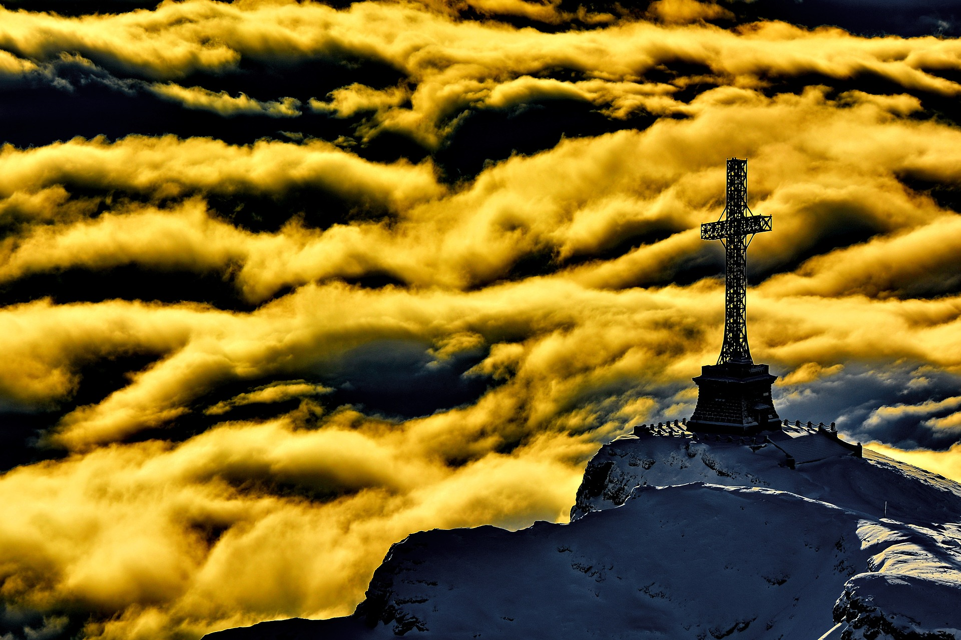 croce in montagna